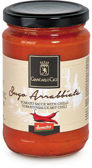 Sugo Arrabbiata mit Chili