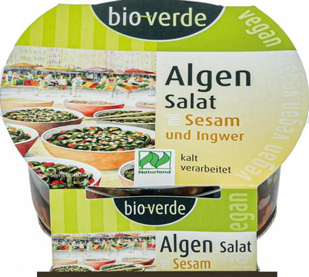 Algen-Salat mit Sesam und Ingwer