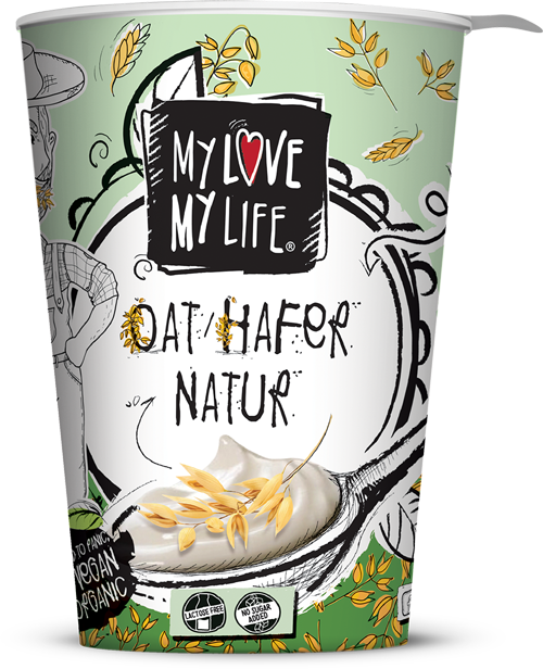 Hafer Joghurtalternative