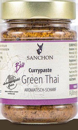 Currypaste Green Thai aromatisch-scharf