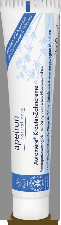 Auromère Kräuter-Zahncreme minzfrei & homöopathieverträglich