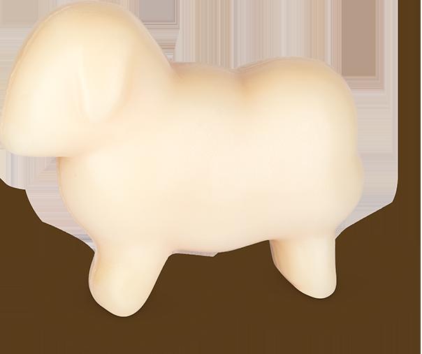 Schafmilchseife weißes Schaf
