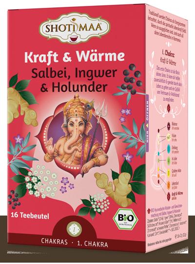 Chakra Tee Kraft & Wärme