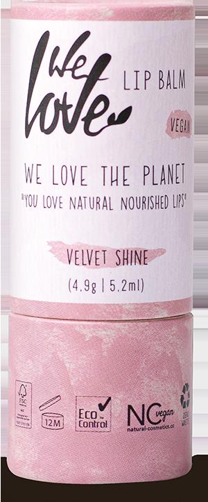 Natürliche Lippenpflege Velvet Shine