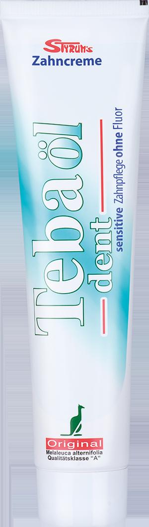 Teebaumöl-Zahnpasta