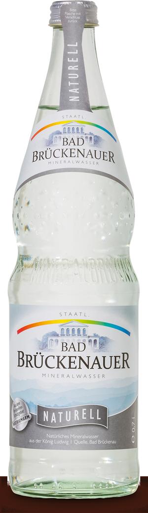 Natürliches Mineralwasser Naturell - KISTE