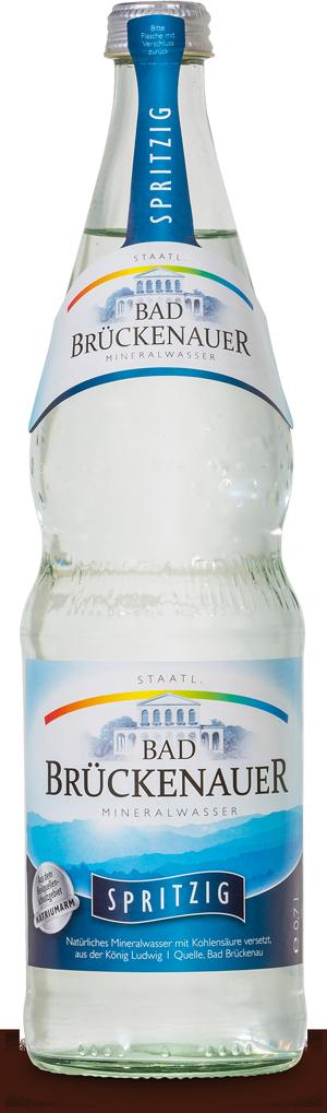 Natürliches Mineralwasser Spritzig - KISTE
