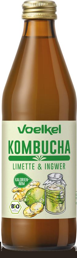 Kombucha Limette-Ingwer
