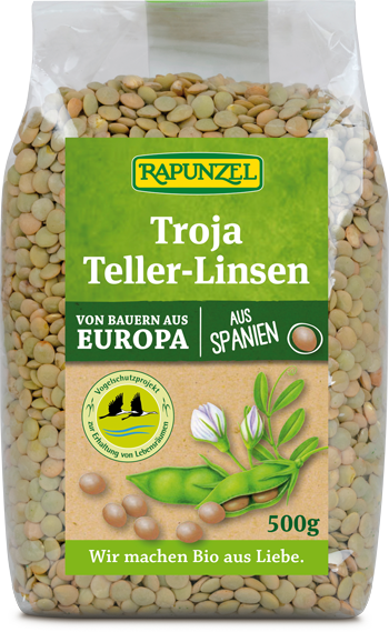 Troja Teller-Linsen