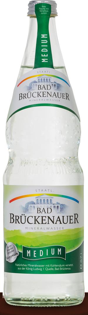 Natürliches Mineralwasser Medium - KISTE