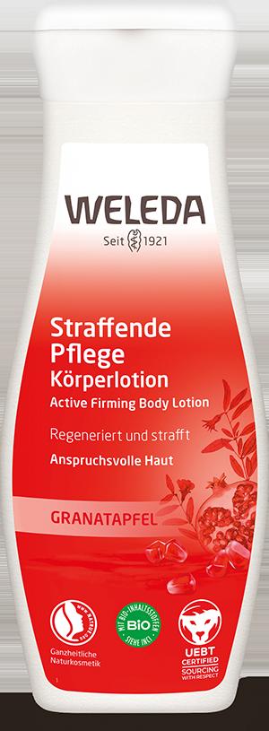 Straffende Pflege Körperlotion Granatapfel