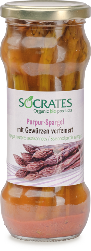 Purpur-Spargel