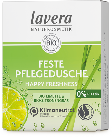 Feste Pflegedusche - Happy Freshness