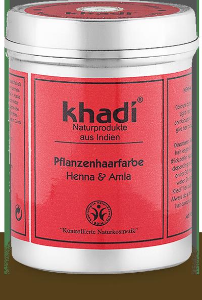 Pflanzenhaarfarbe Henna & Amla