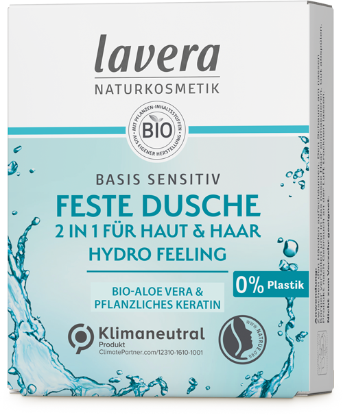 Feste Pflegedusche - basis sensitiv 2in1 Hydro Feeling