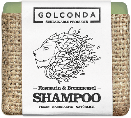 Haarseife Rosmarin & Brennessel (bei Haarausfall und Schuppen)