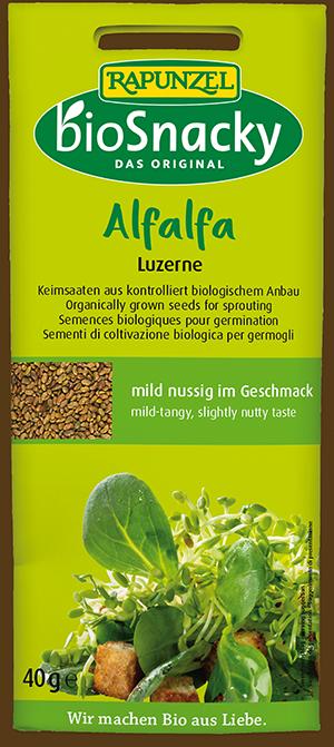 bioSnacky Keimsaat - Alfalfa