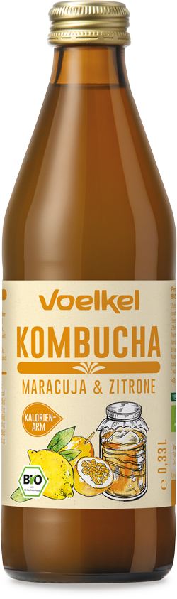 Kombucha Maracuja-Zitrone
