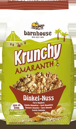 Krunchy Amaranth Dinkel- Nuss