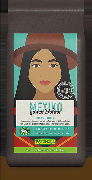 Heldenkaffee Mexiko, ganze Bohne