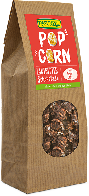Popcorn Zartbitter-Schokolade