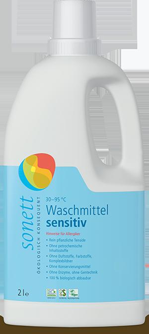 Waschmittel flüssig sensitiv (duftfrei)