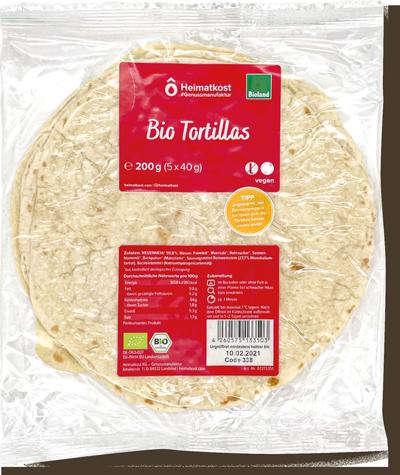 Frische Tortillas