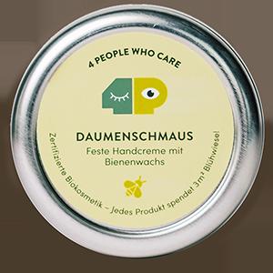 Daumenschmaus - feste Handcreme in der Dose