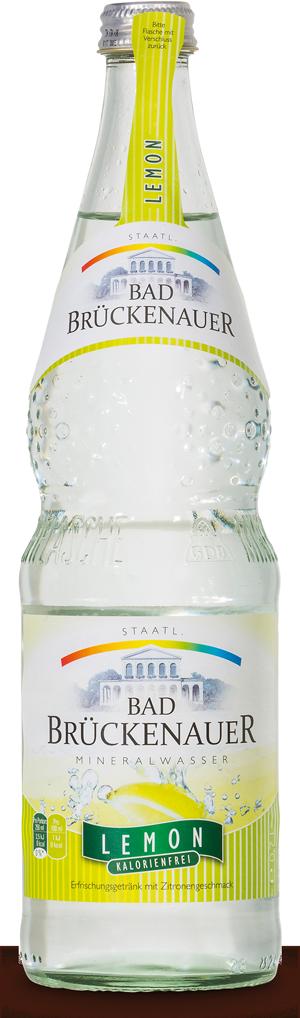 Natürliches Mineralwasser - Lemon KISTE