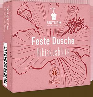Feste Pflegedusche Hibiskusblüte