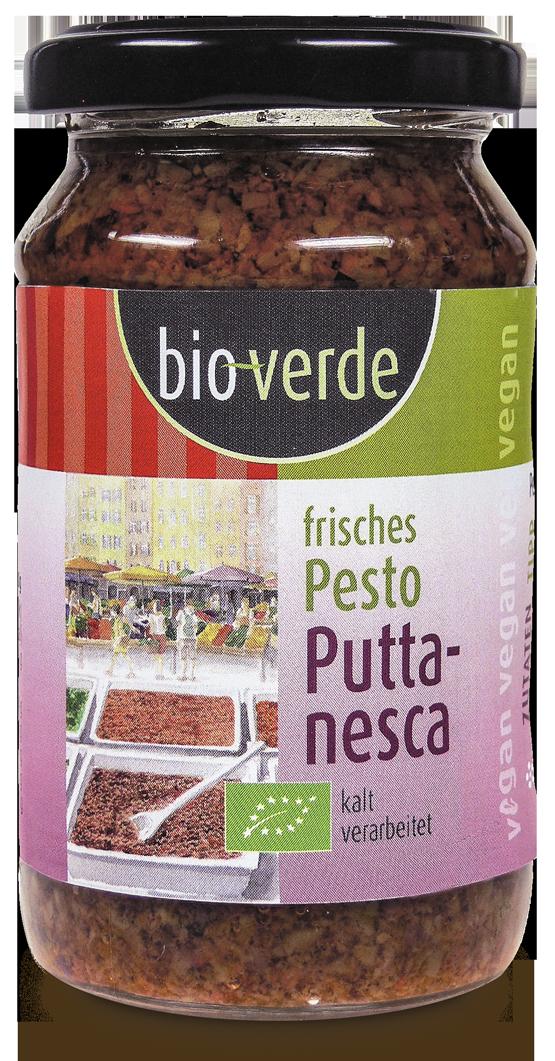 Frisches Pesto Puttanesca