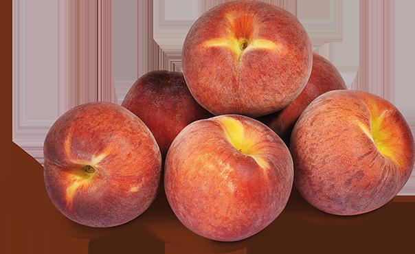 Spanische Pfirsiche gelbfleischig