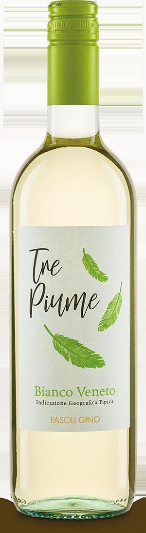 Italienischer Weißwein Tre Piume Bianco Veneto