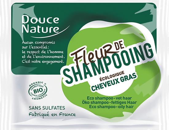 Fester Shampoo für fettendes Haar