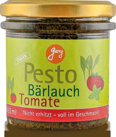 Bärlauch-Pesto mit Tomate
