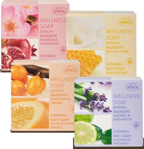 Wellness Soaps - Dusch- und Badeseifen