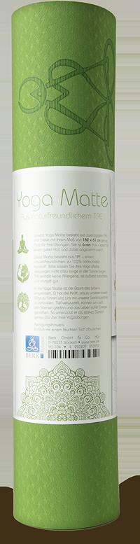 Balance Yoga-Matte - Weltenbaum