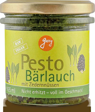 Bärlauch-Pesto mit Zedernnüssen