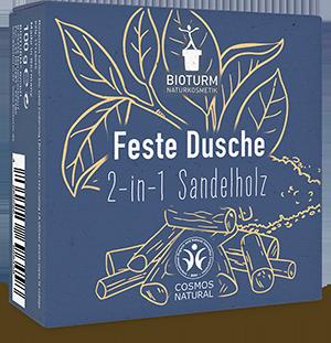 Feste Pflegedusch 2-in-1 Sandelholz