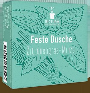 Feste Pflegedusche Zitronengras-Minze