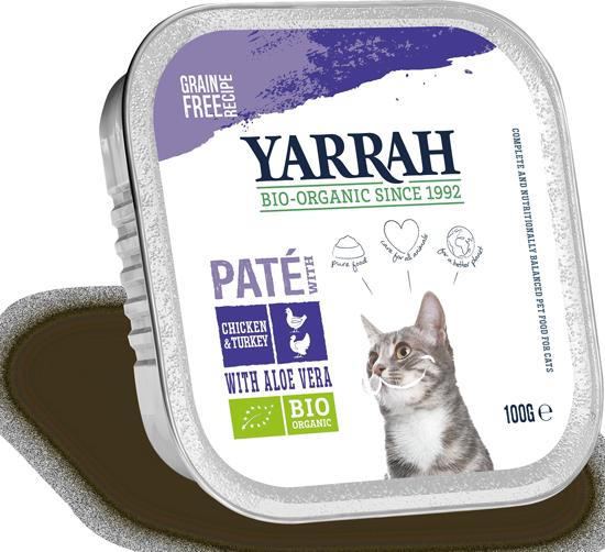 Katzen Nassfutter Paté mit Huhn & Truthahn & AloeVera