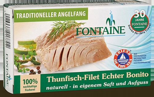 Thunfisch-Filet Echter Bonito naturell