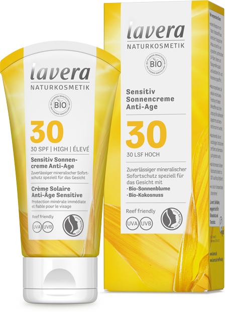 Sensitiv Sonnencreme Anti-Age LSF 30