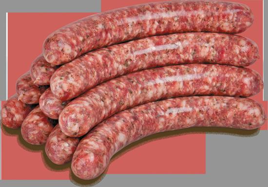 Lammbratwurst mit Rindfleisch