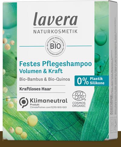 Festes Pflegeshampoo - Volumen & Kraft