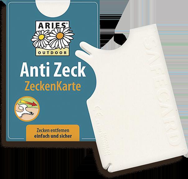 Anti Zeck Zeckenkarte