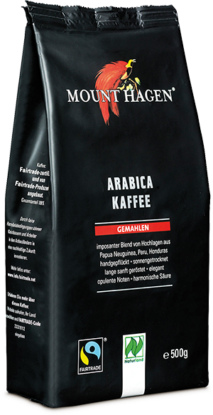 Arabica Kaffee gemahlen