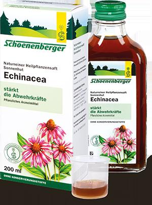 Naturreiner Heilpflanzensaft Sonnenhut (Echinacea)