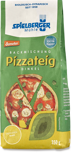 Pizzateig Dinkel Backmischung